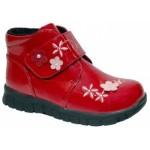 Ботинки лаковые для девочек