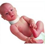 Бандаж на шейный отдел позвоночника для младенцев (симметричный и ассиметричный)