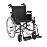 Кресло-коляска с откидными подлокотниками и съемными подножками