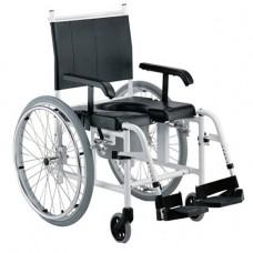 Кресло-коляска с санитарным устройством  (до 120кг)