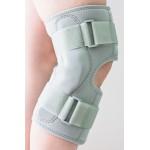 Бандаж на коленный сустав с шарнирами (разъёмный спереди)
