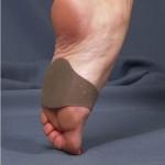 Силиконовая подушечка под дистальный отдел стопы, с застёжкой Velcro