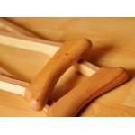 Костыли  деревянные с мягкими подмышечными опорами