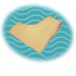 Силиконовый протектор на тканевой основе с защитой большого пальца стопы
